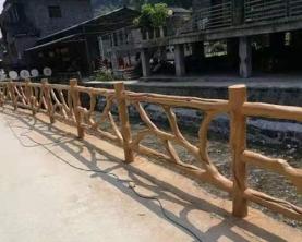 仿藤栏杆案例
