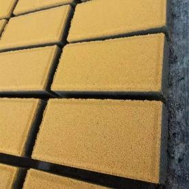 透水砖-金色  200x100x50