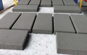 透水砖-灰色 400x200x55